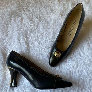 St. John Leather Heels